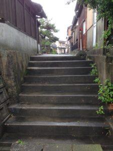 路地階段パート2 施工前