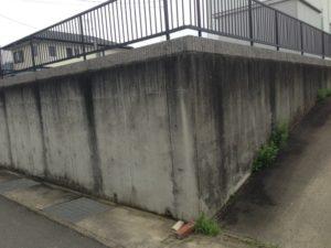コンクリート塀 施工前