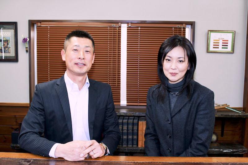 大沢逸美さんとの写真
